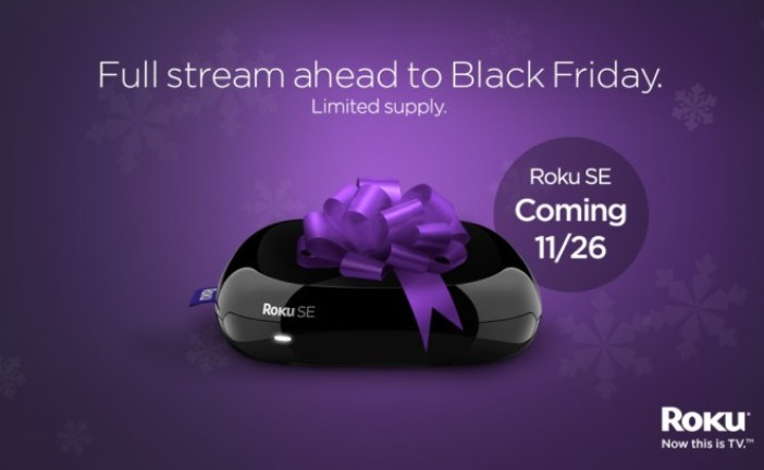 Roku SE, The $25 Entry-Level Streaming Device