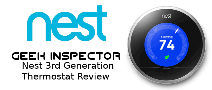 Nest Smart Thermostat Review