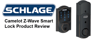 Schlage Z Wave Connect Camelot Touchscreen Deadbolt Lock