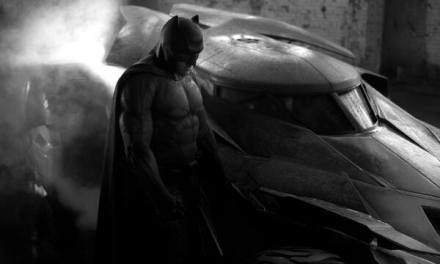 First Pic of Ben Affleks Batman & Batmobile