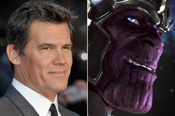Josh Brolin to Play Thanos in 'Guardians of The Galaxy'
