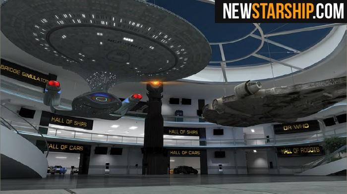 Save the bridge of the Enterprise!
