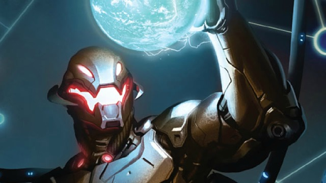 First Official Picture of Ultron From Avengers 2.  Warning Spoilers!