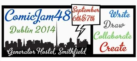 ComicJam48 Dublin 2014