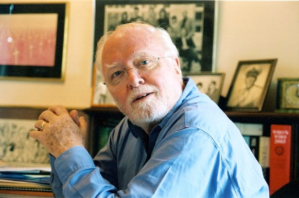 Richard Attenborough dies, aged 90