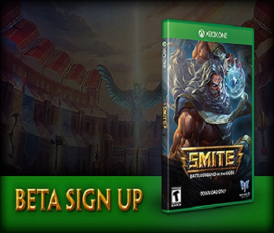SMITE Xbox One Beta Sign-ups + Announcement Trailer