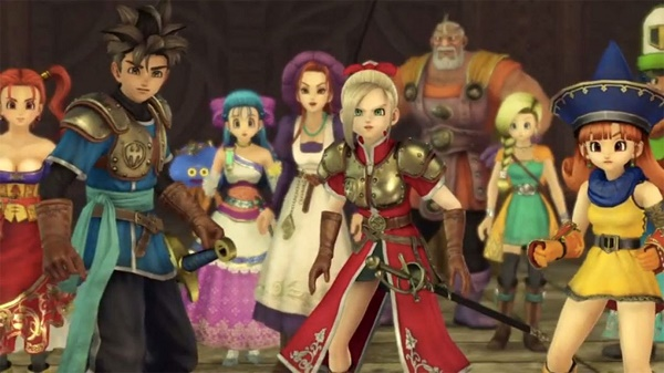 New Trailer for Dragon Quest Heroes!