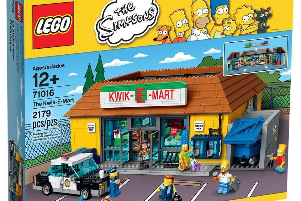 Lego announce Lego Simpsons Kwik-E-Mart