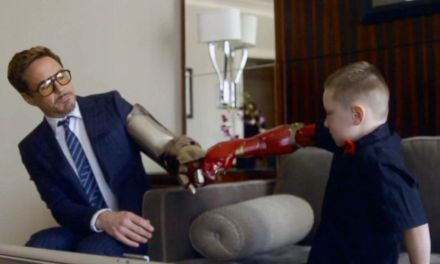 A Bionic Surprise from Robert Downey Jr.