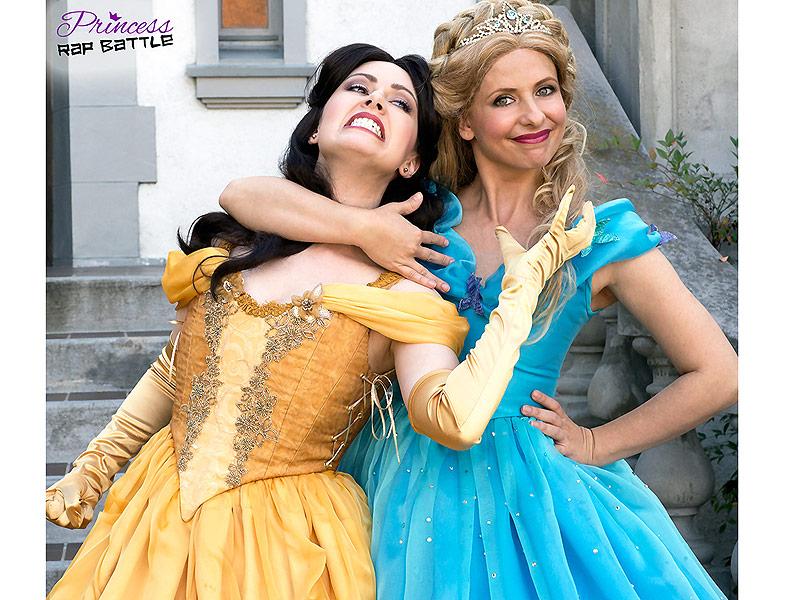 Princess Rap Battle with Sarah Michelle Gellar!!