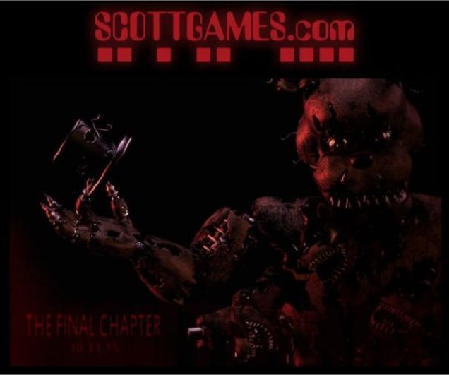 Five Nights at Freddy's 4: The Final Chapter Announced