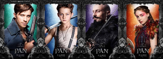 New trailer and Info on 'Pan'!