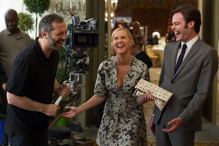 Amy Schumer, Bill Hader and Director Judd Apatow will be in town for new film Trainwreck.