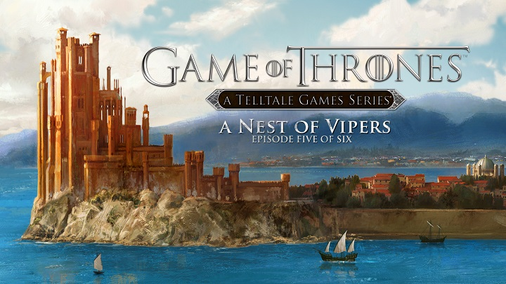 Telltales Game of Thrones Episode 5 'A Nest of Vipers' Arrives Next Week
