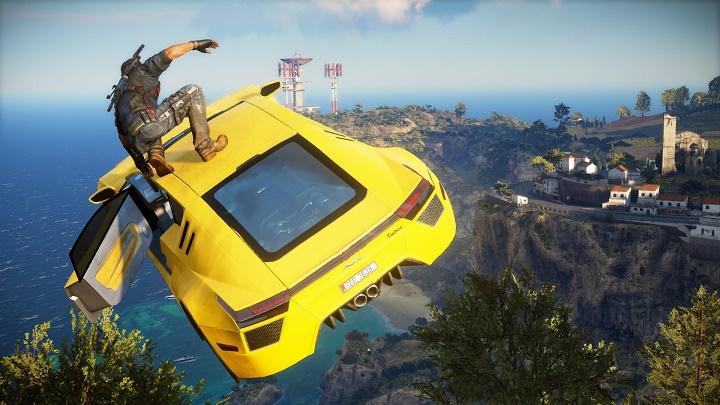 Square Enix releases Story Trailer for Just Cause 3!