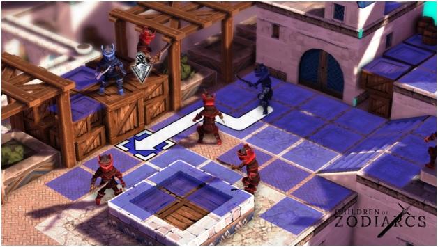 Square Enix Collective supports Children Of Zodiarcs Kickstarter campaign