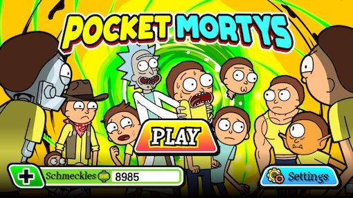 Review: Pocket Mortys