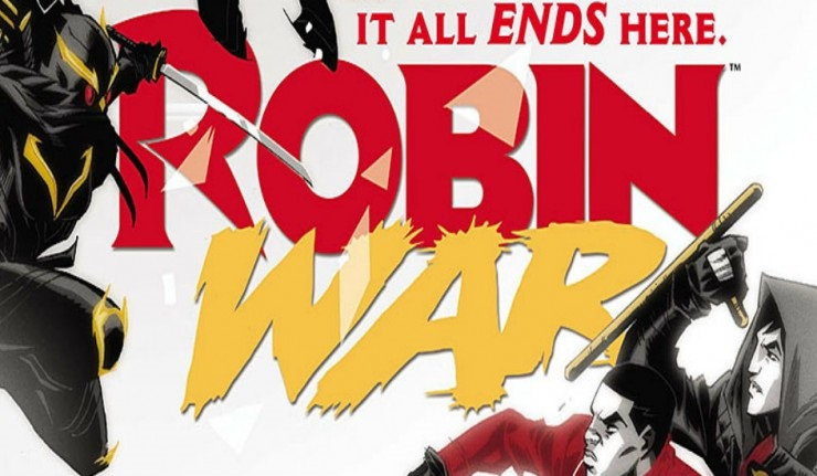 Review: Robin War issue 2