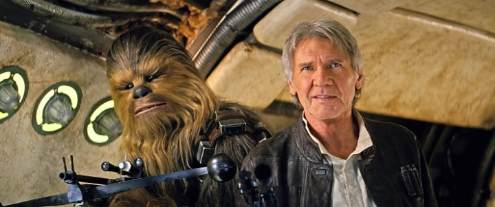 awakens Han Solo ChewiwForce