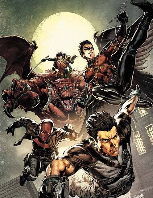 Comic Book Review: Batman and Robin Eternal No. 22
