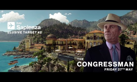 "Second HITMAN Elusive Target ""The Congressman"" due next Friday 27th of May"
