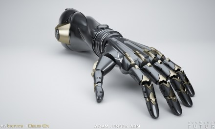 Deus Ex Inspired augmentations brought to life with Open Bionics