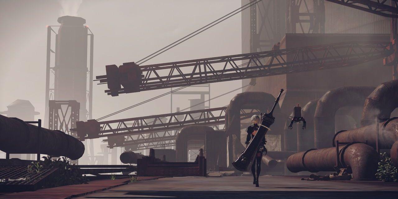 NieR: Automata's dystopian future arrives early 2017