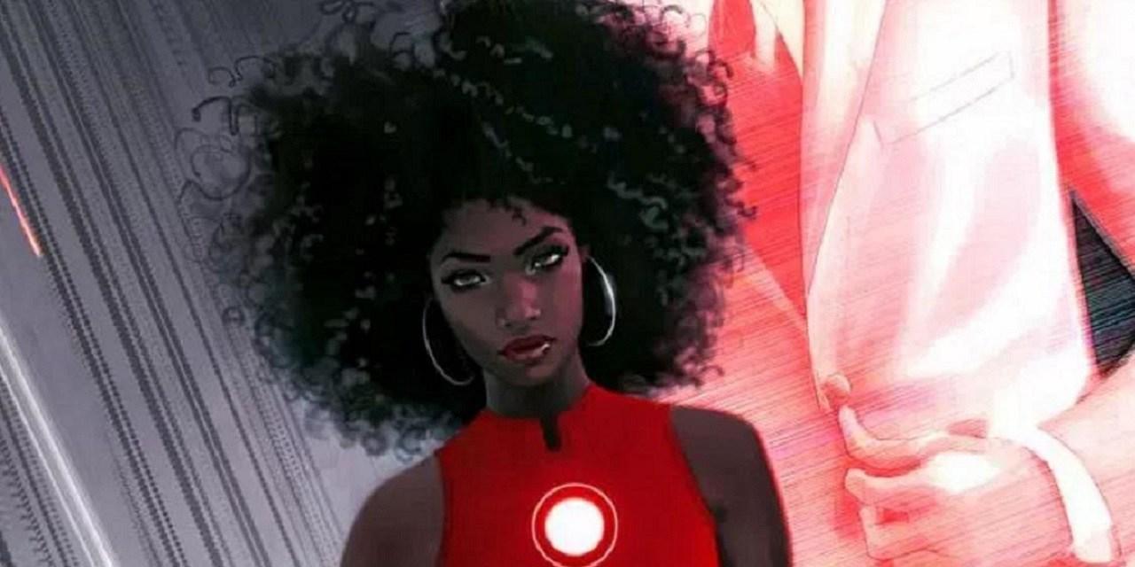 There's a new Iron Man, Riri Williams