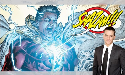 Matt Damon wants to be Shazam, and that's awesome!
