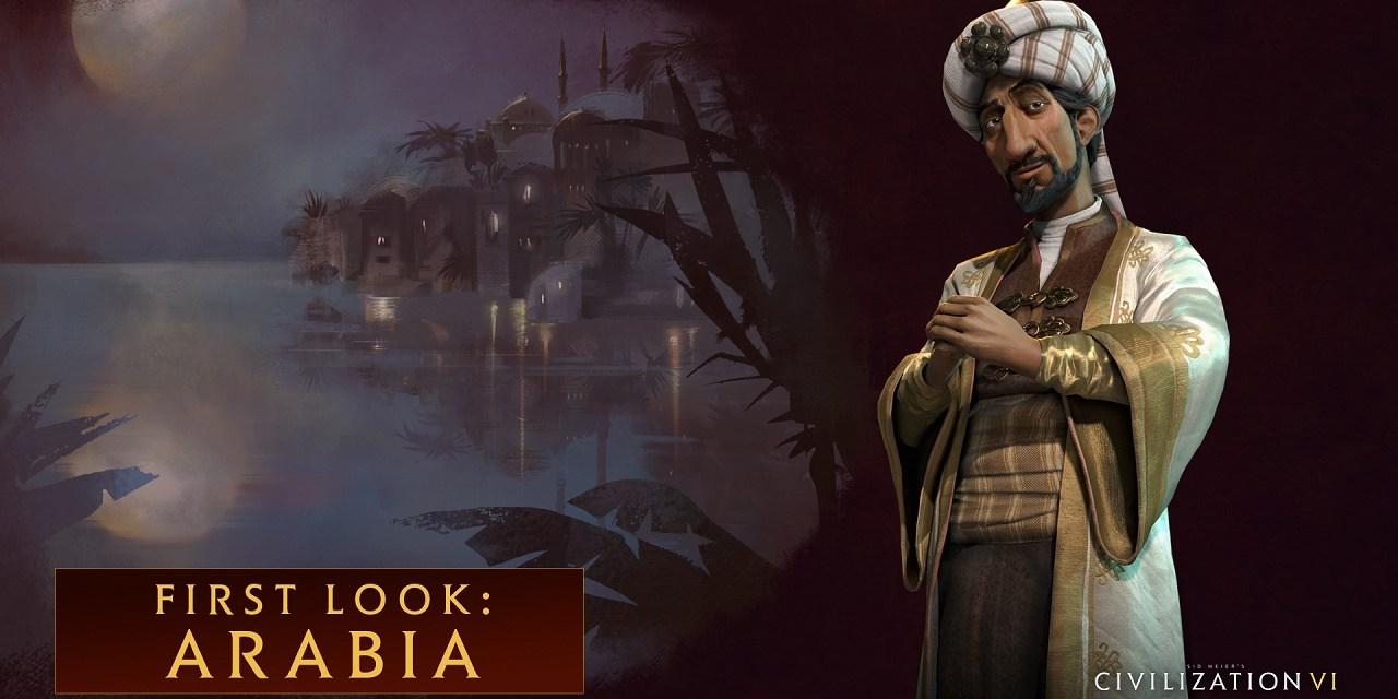 Saladin leads Arabia in Civilization VI