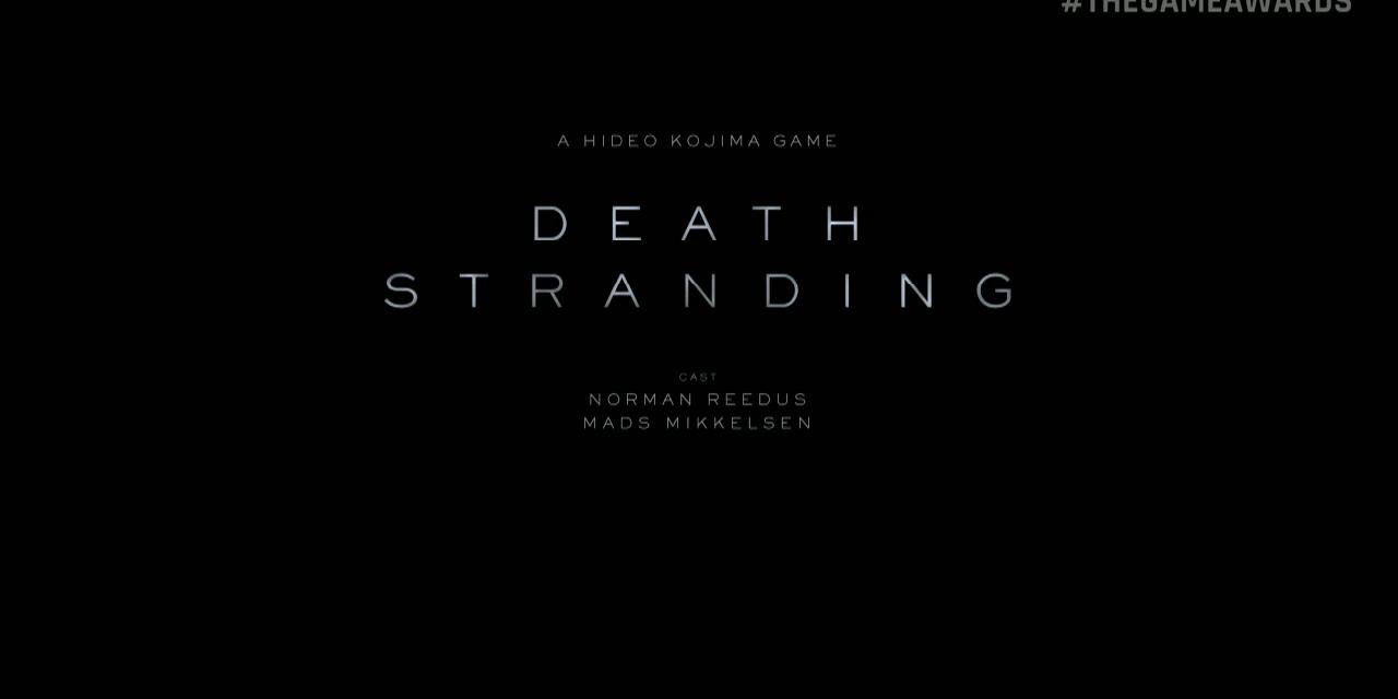 Hideo Kojima Debuts New Death Stranding Trailer