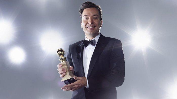 Jimmy Fallon 2016 Golden Globes