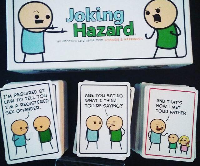 Joking Hazard Explosm Card Game