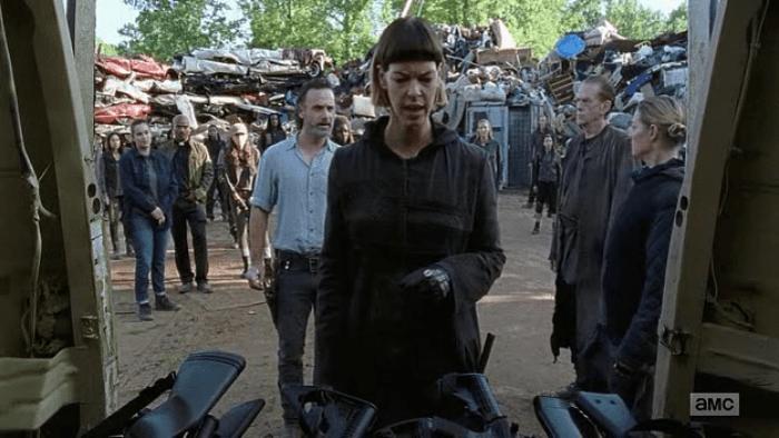 The Walking Dead S07E12 Need More Guns