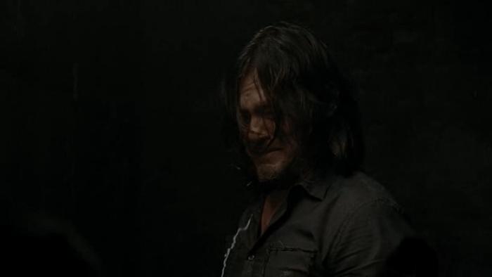 The Walking Dead S07E14 Daryl's Tears