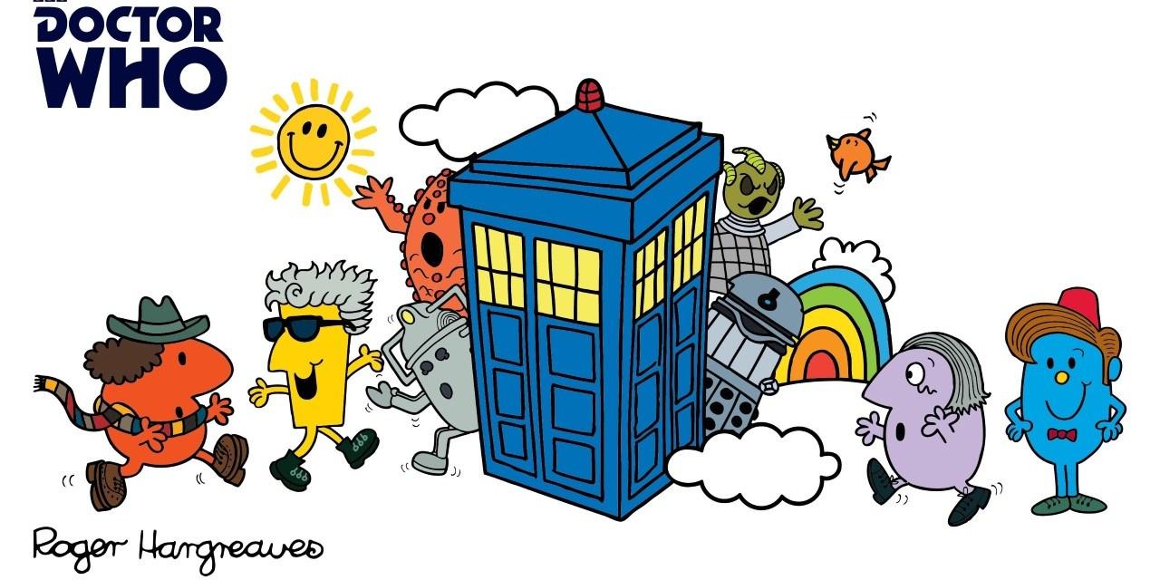 Doctor Who Mr Men Books Hit The Shelves