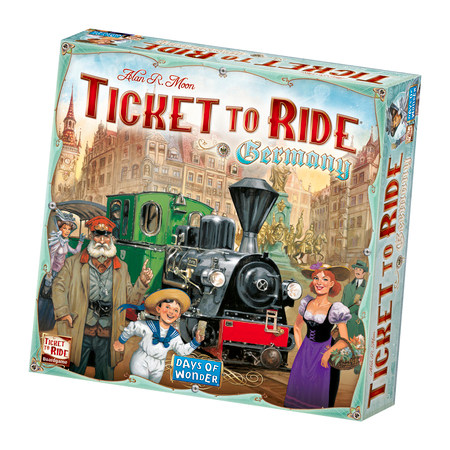 Ticket to Ride Germany Box
