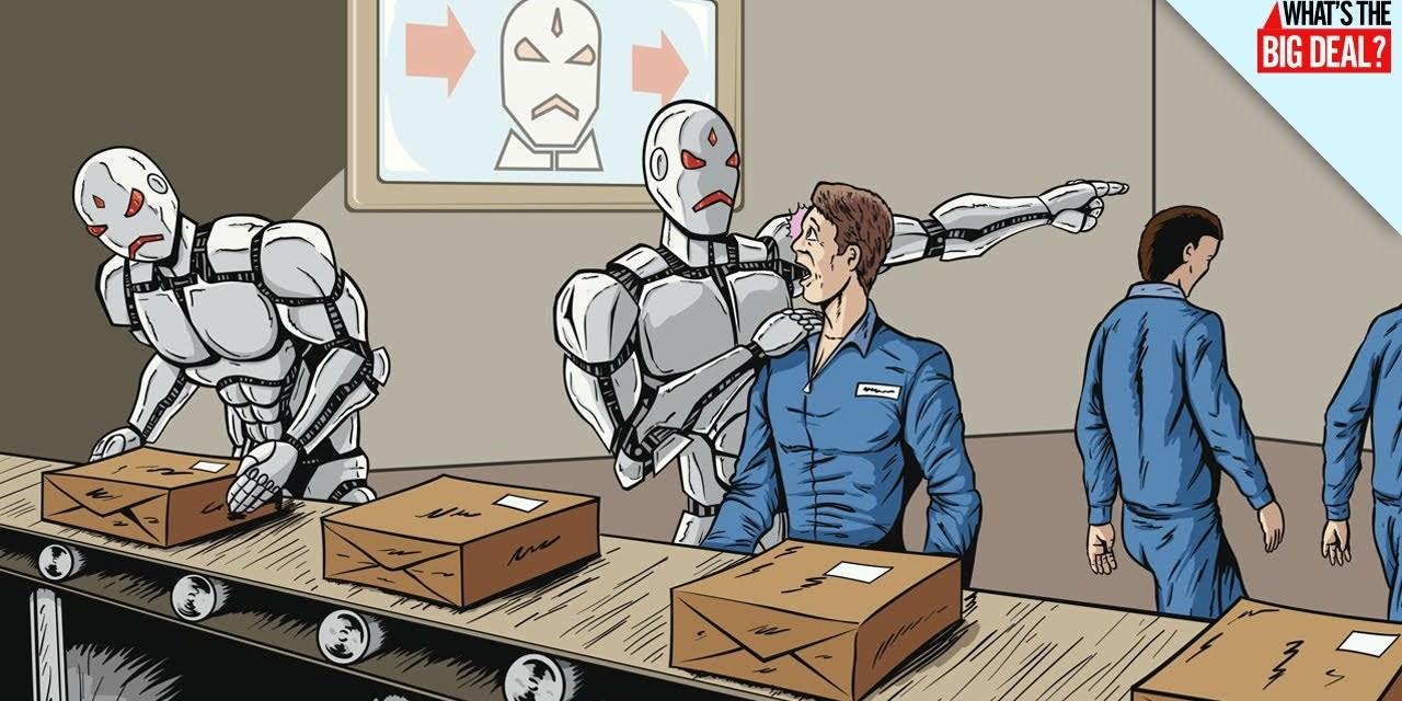 5 Jobs The Robots Have Already Taken