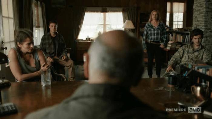 Fear the Walking Dead Questioning Ofelai