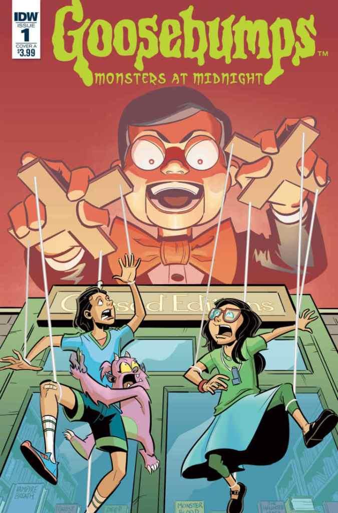 IDW Goosebumps Comic
