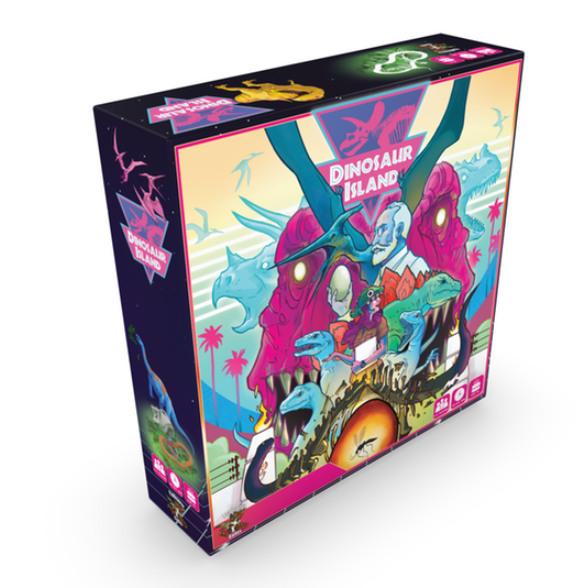 Dinosaur Island Game Box