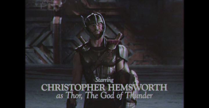 Thor Retro Ragnarok Christopher Hemsworth