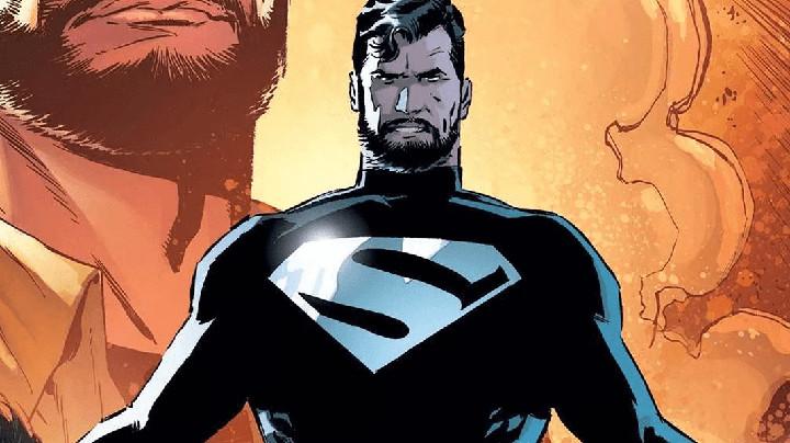Superman Black Suit