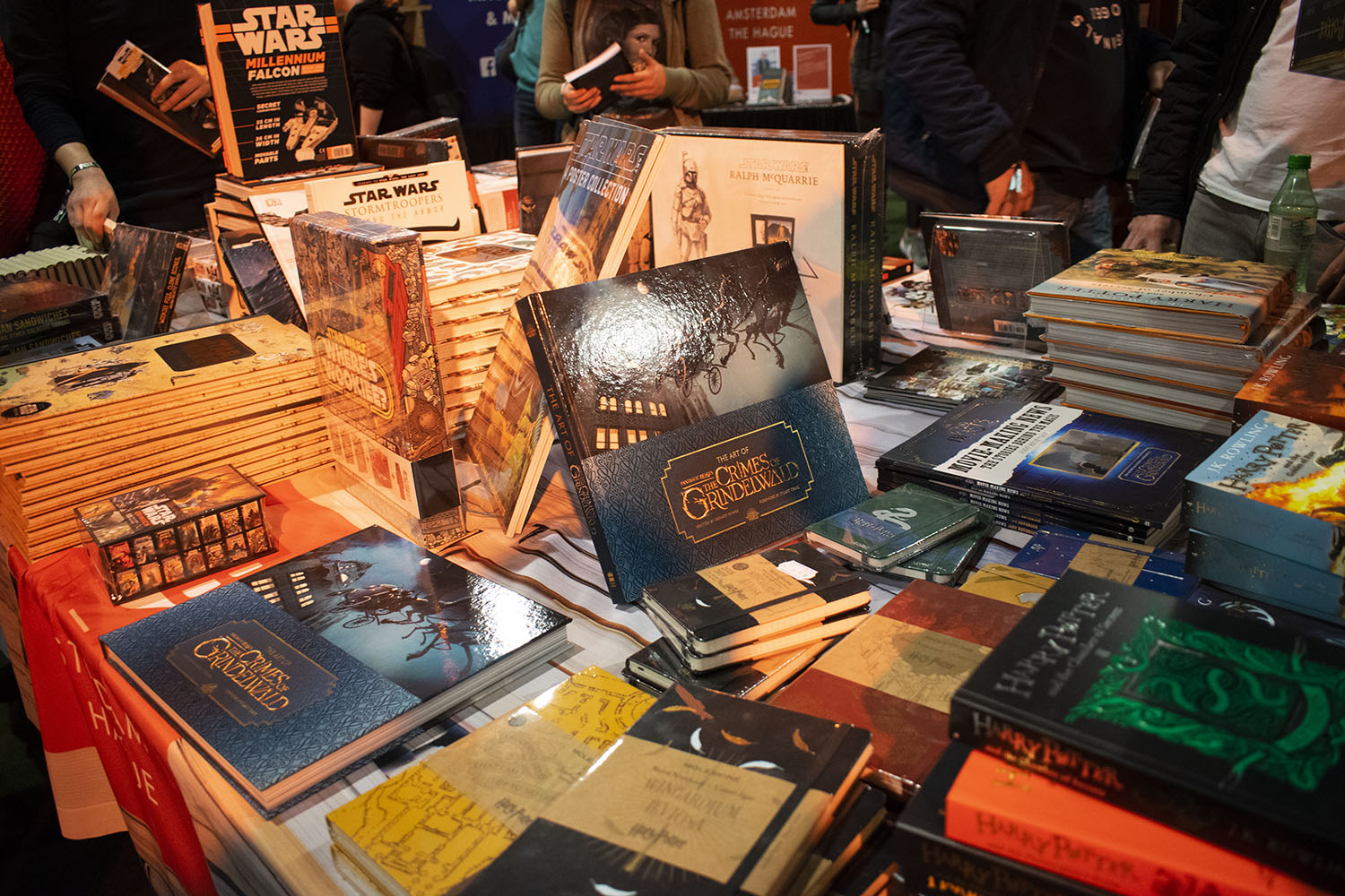 Fotoreportage: Dutch Comic Con Winter Edition 2018 American Book Center