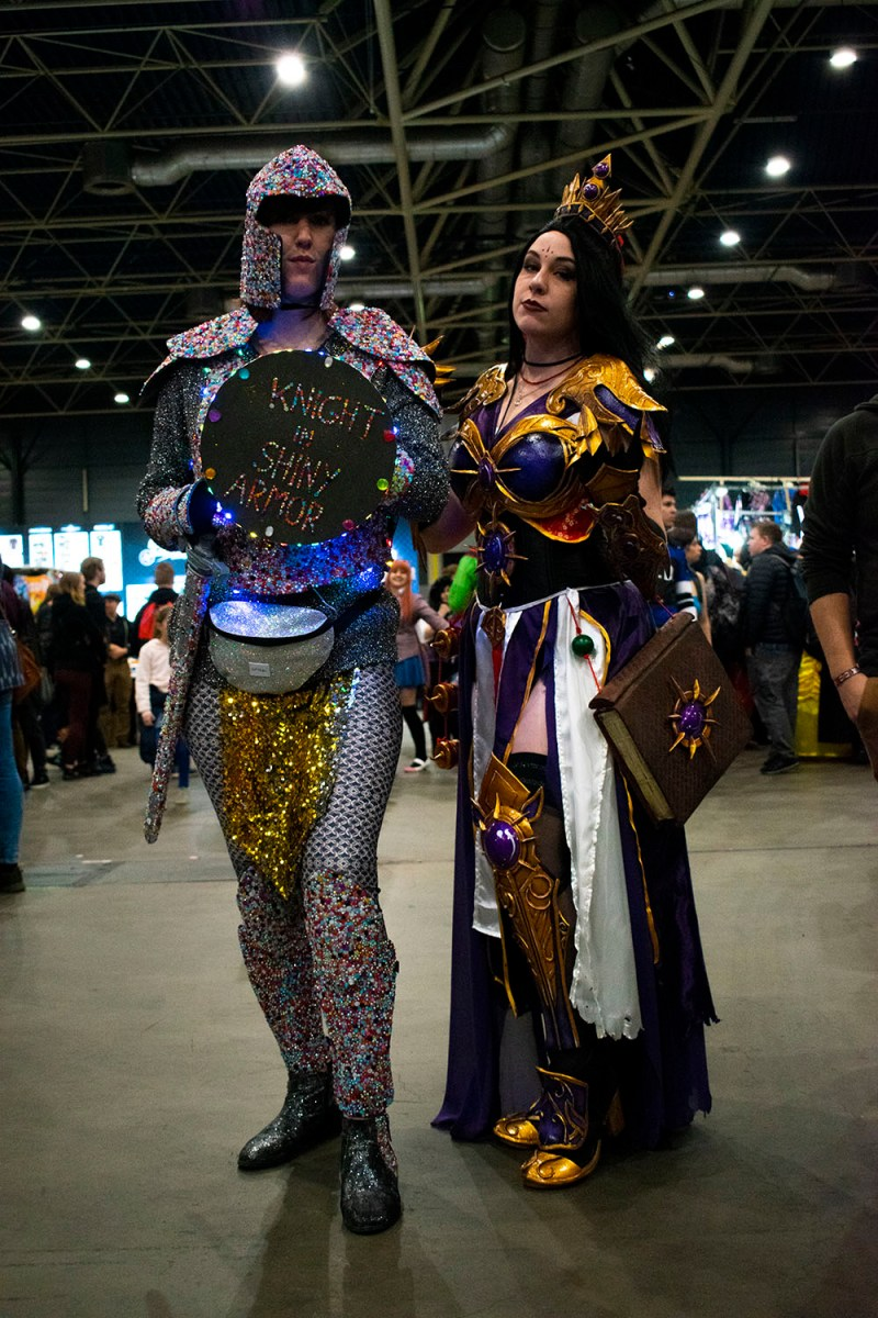 Dutch Comic Con Winter Editie 2018: Cosplay Knight in Shining Armor en Li-Ming