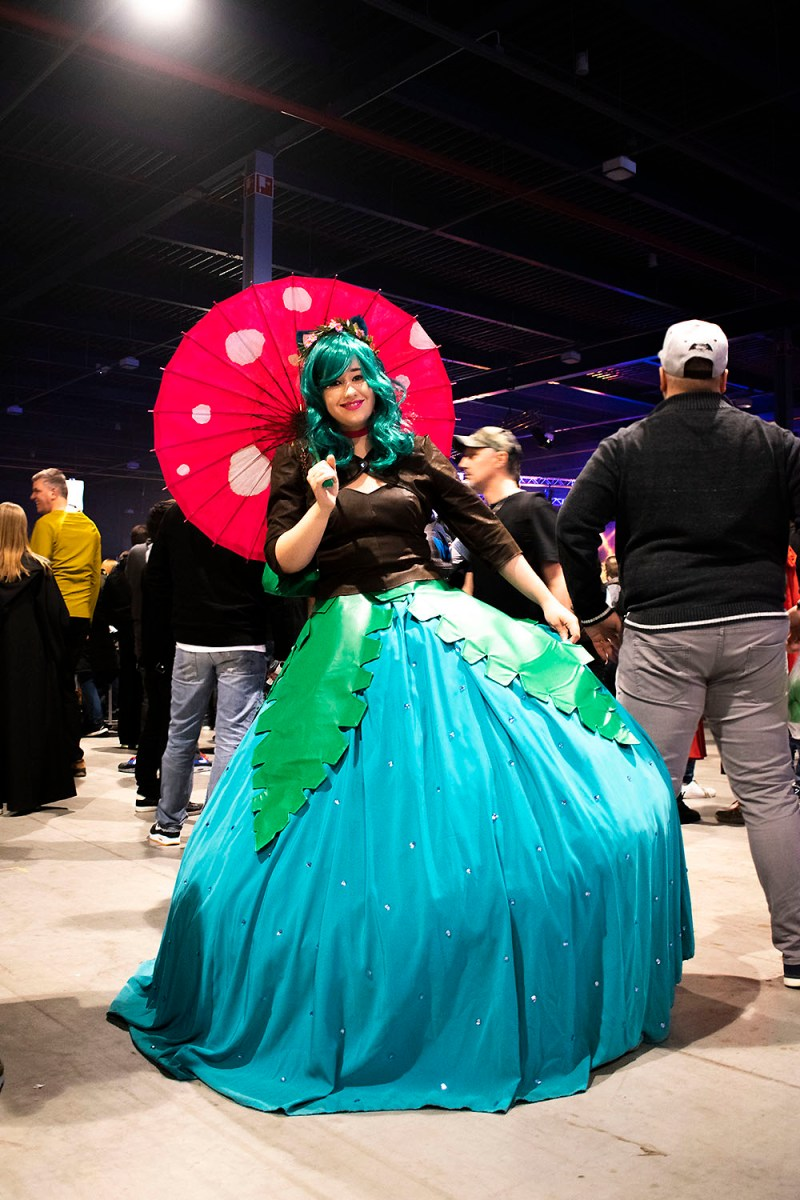 Dutch Comic Con Winter Editie 2018: Cosplay Venusaur