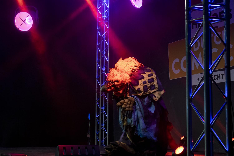 Dutch Comic Con Winter Editie 2018: Cosplay Arakkoa World of Warcraft