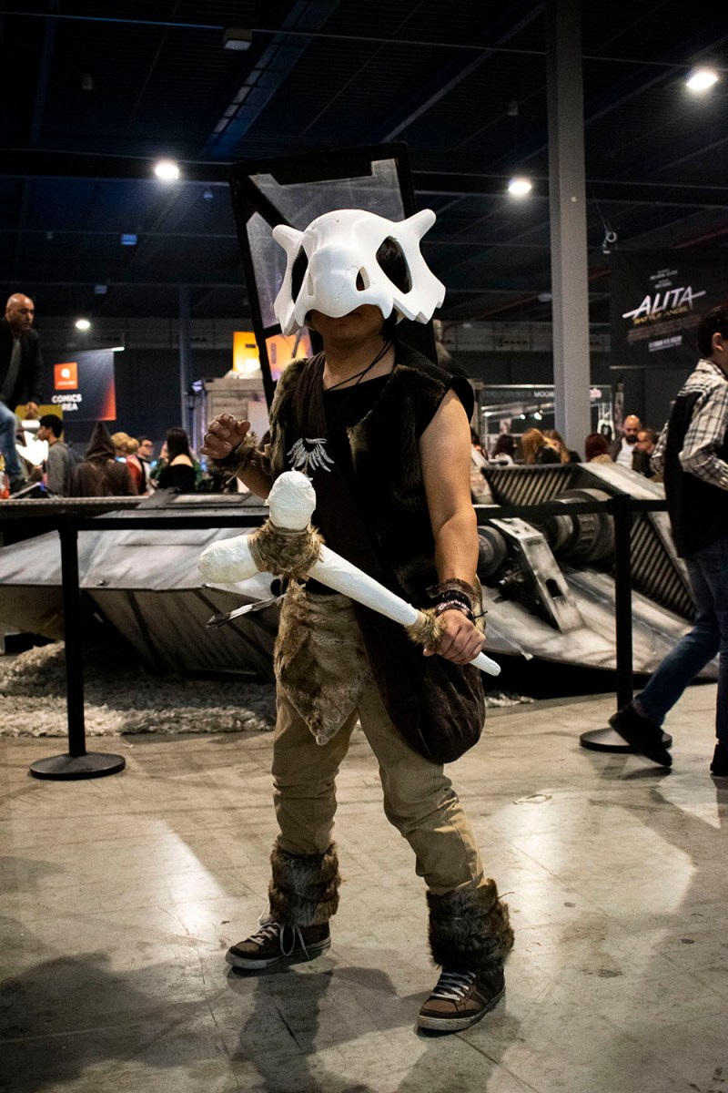 Dutch Comic Con Winter Editie 2018: Cosplay Cubone Pokémon