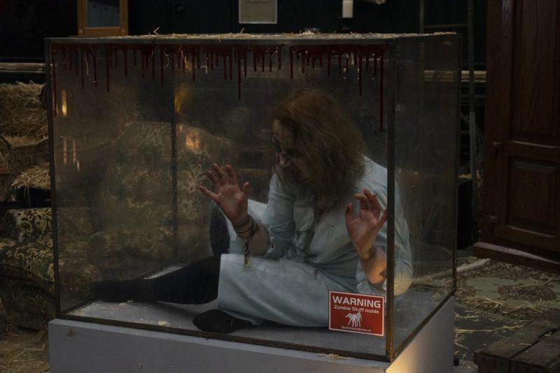 DCC Zombie escape room