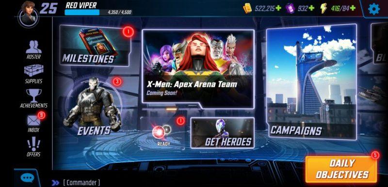 Marvel Strike Force - Ideaal spel voor de Marvel fans